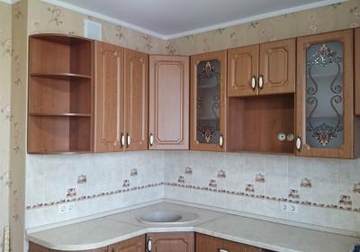 Кухня с классической фрезеровкой