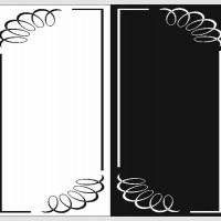 Пескоструйная обработка - Рамки, уголки